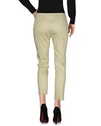 Piazza Sempione Yellow Casual Pants