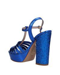 Divine Follie - Blue Sandals - Lyst