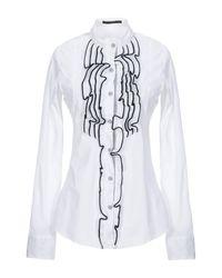 Camisa Aglini de color White