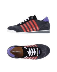 DSquared² Gray Low-tops & Sneakers for men