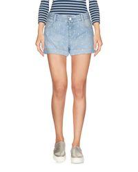 Stella McCartney Blue Denim Shorts