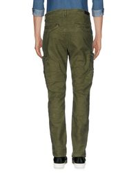 Superdry Green Casual Trouser for men