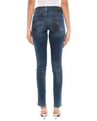 Pantalon en jean DIESEL en coloris Blue