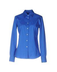 Stell Bayrem Blue Shirt