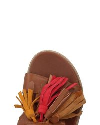 Mally Brown Sandals