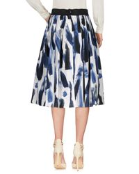 Dolce & Gabbana - Blue 3/4 Length Skirt - Lyst
