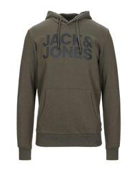Sweat-shirt Jack & Jones pour homme en coloris Green