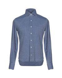 Camicia di Altea in Blue da Uomo