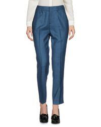 PT01 Blue Casual Pants