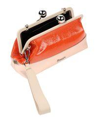 Pollini Orange Handbag