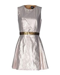 Just Cavalli Pink Short Dress