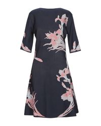 Roberto Cavalli Blue Kurzes Kleid