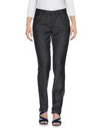 Jucca Black Denim Trousers