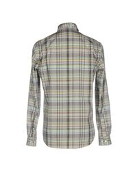 Acne - Gray Shirt for Men - Lyst
