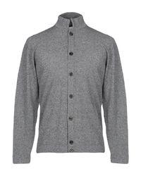 Eleventy Strickjacke in Gray für Herren