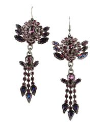 Emanuele Bicocchi - Purple Earrings - Lyst