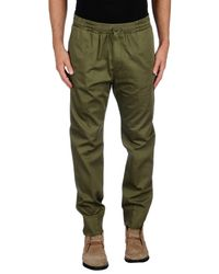 Dondup Green Casual Pants for men