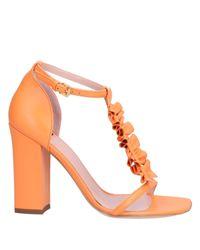 Boutique Moschino Orange Sandale