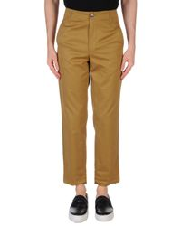 Golden Goose Deluxe Brand - Green Casual Pants for Men - Lyst