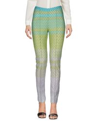 Missoni - Green Casual Pants - Lyst