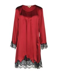 Vivis Red Nightgown