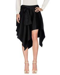Falda a media pierna Proenza Schouler de color Black