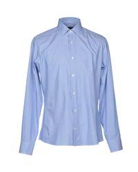Tru Trussardi Blue Shirt for men