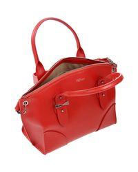 Alexander McQueen Red Shoulder Bag