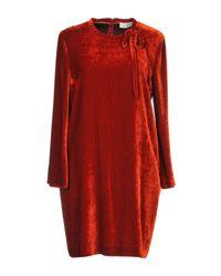 Vestito corto di L'Autre Chose in Red