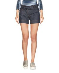 Boutique Moschino Blue Denim Shorts