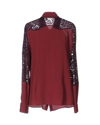 Frankie Morello Red Shirt