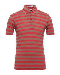 Dolce & Gabbana Red Polo Shirt for men