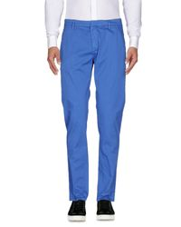 Dondup Blue Casual Trouser for men