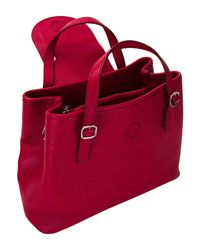 Santoni Red Handbag
