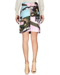 KENZO Pink Knee Length Skirt