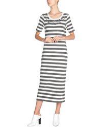 Anna Rachele Gray 3/4 Length Dress