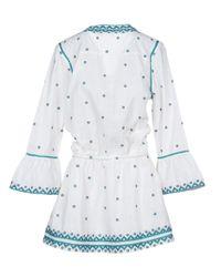 Talitha - White Short Dress - Lyst
