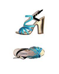 Guido Sgariglia Blue Sandale