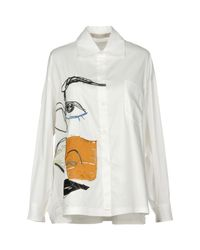 Malloni White Shirt