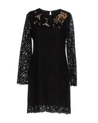 Pinko Black Short Dress