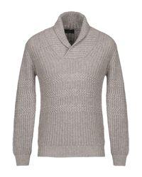 Pullover di Zanone in Gray da Uomo
