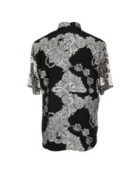 Camisa McQ Alexander McQueen de hombre de color Black