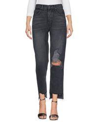 Pantalones vaqueros GRLFRND de color Black