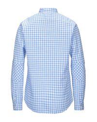 Camicia di Sun 68 in Blue da Uomo