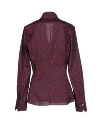 Caliban Purple Shirt