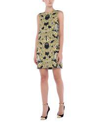 Versace Yellow Kurzes Kleid