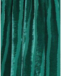 Gonna longuette di Marco Bologna in Green