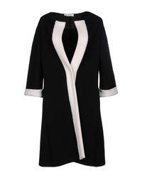Charlott - Black Overcoat - Lyst