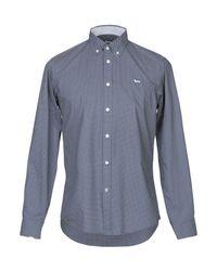 Camicia di Harmont & Blaine in Blue da Uomo