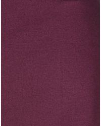 Class Roberto Cavalli Purple Casual Trouser
